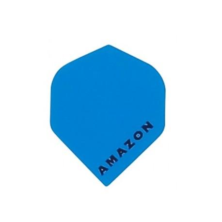 plume amazon bleu