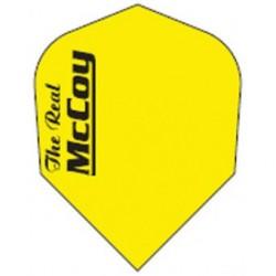 plume mc coy jaune fluo