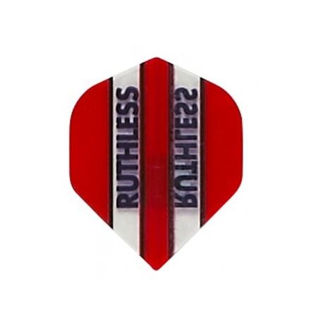 plume ruthless rouge ligne transaparente