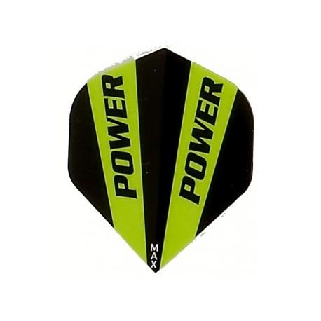 plume power noir et vert